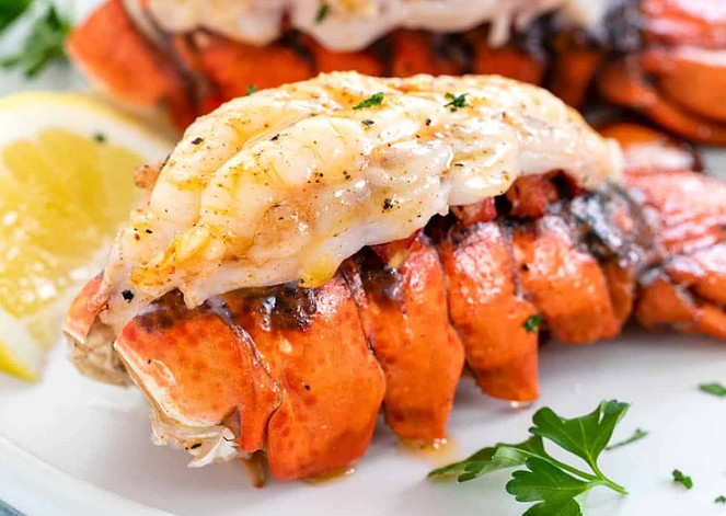 Defrosting Lobster Tails Quickly By Using Cold Water Method 1