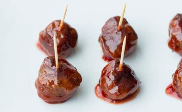 Grape Jelly and Ketchup Meatballs Recipe