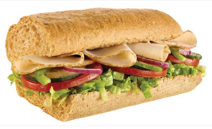 Lowest Calorie Subway Sandwich